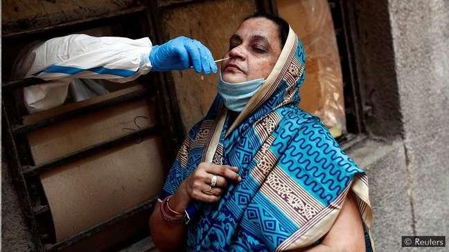 Muitas pessoas que têm o novo coronavírus nunca são testadas