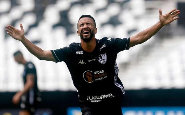Caio Alexandre marcou o seu primeiro gol como profissional (Foto: Vitor Silva/Botafogo)