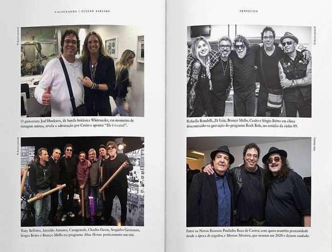 Fotos do livro Travessia
