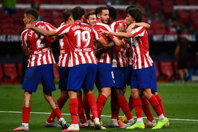 Atlético de Madrid espera manter boa fase desde o retorno do Espanhol (AFP)