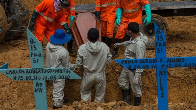 Mais de 75 mil pessoas já morreram no Brasil