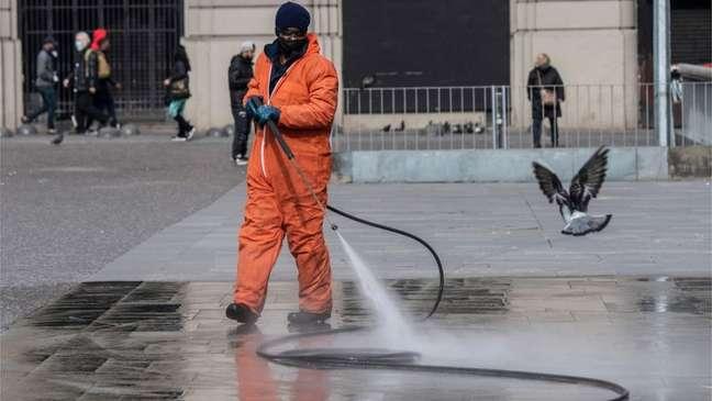 Chile colocou boa parte das suas cidades em quarentena para evitar disseminação da covid-19