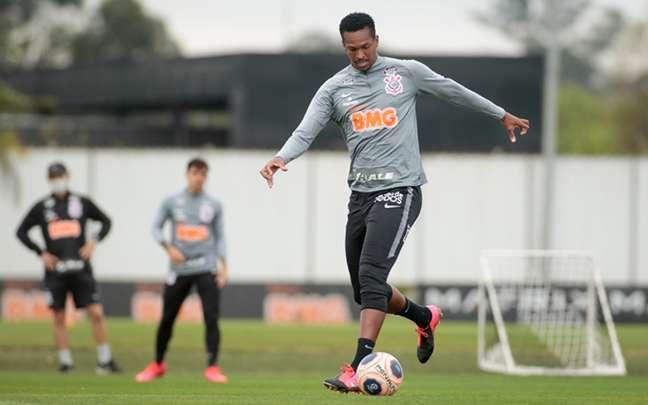 Jô não foi registrado a tempo na CBF para poder ser inscrito no Paulistão (Foto: Rodrigo Coca/Ag. Corinthians)