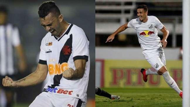 Raul e Matheus Peixoto estão envolvidos em negociação conjunta (Rafael Ribeiro/Vasco; Ari Ferreira/CA Bragantino)