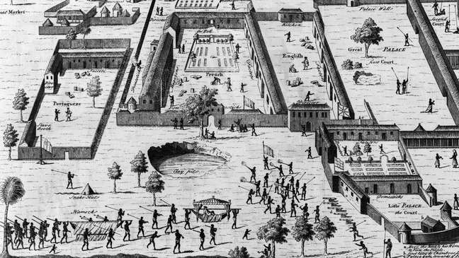 Várias nações europeias tinham 'fábricas de escravos' no que é hoje a Nigéria