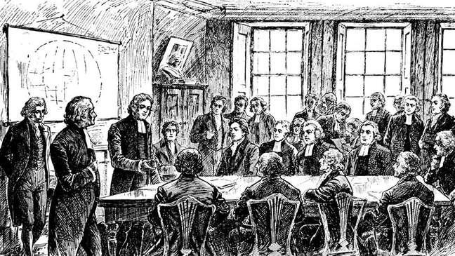 A Sociedade Missionária foi formada em Londres em 1799 por abolicionistas britânicos contra a escravidão