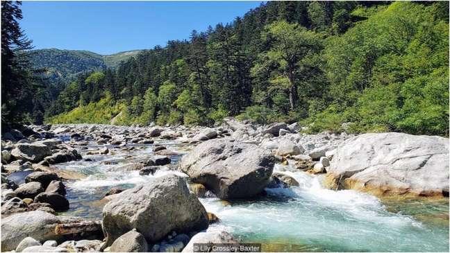 São necessários dois dias para chegar ao onsen mais remoto do Japão, localizado ao lado do rio Kurobe, nos Alpes japoneses