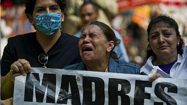 Em média 7 menores desaparecem no México todos os dias