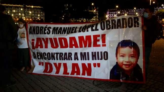 A mãe de Dylan chegou a viajar para a capital do país para pedir ajuda ao presidente