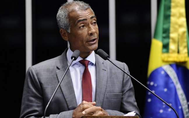 Romário diz não aceitar que CBF fique sob tutela de Del Nero, Teixeira ou Gustavo Feijó (Foto: Divulgação)