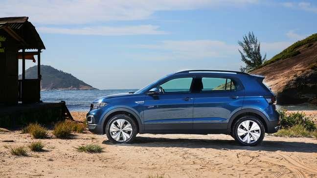 Volkswagen T-Cross obteve 10.211 emplacamentos e desbancou Chevrolet Onix.