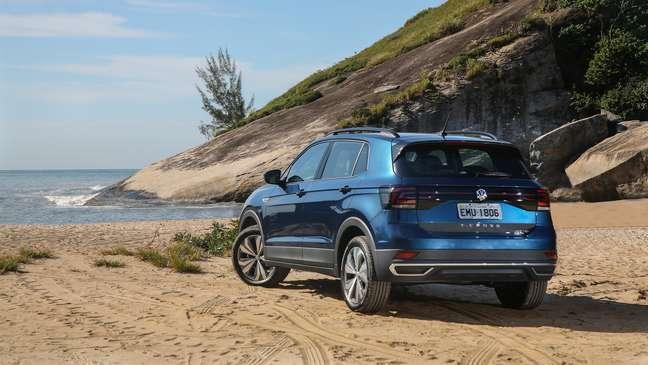Volkswagen T-Cross é um SUV compacto baseado no Polo e no Virtus.