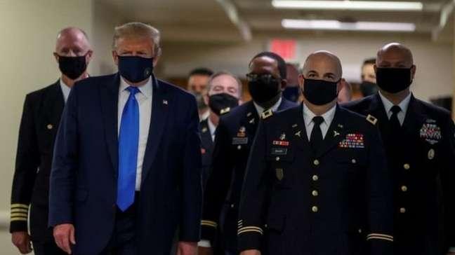 Donald Trump enfrenta a covid-19 em ano eleitoral nos EUA