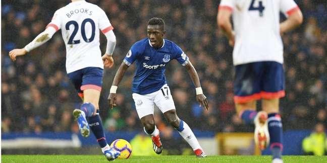 Gueye teve destaque no Everton em sua última passagem na Premier League (Foto: AFP)