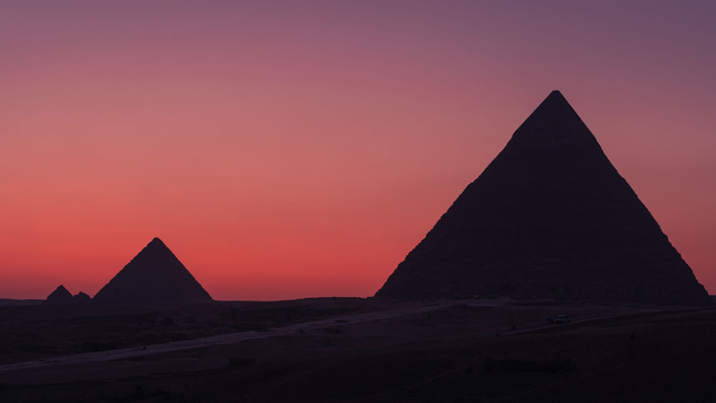 Quando há areia na atmosfera, vemos um céu um pouco rosa ou vermelho como em Marte