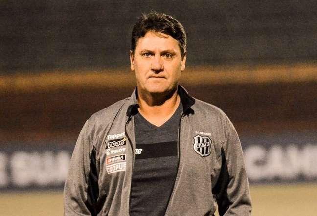 João Brigatti, técnico da Ponte Preta (Foto: Divulgação/Ponte Preta)