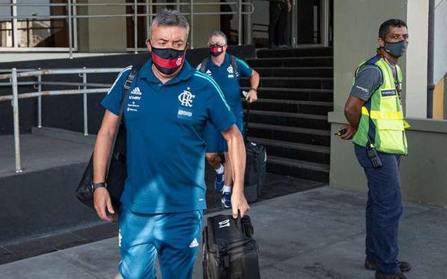 Torrent vai para o terceiro jogo pelo Flamengo (Foto: Alexandre Vidal / Flamengo)