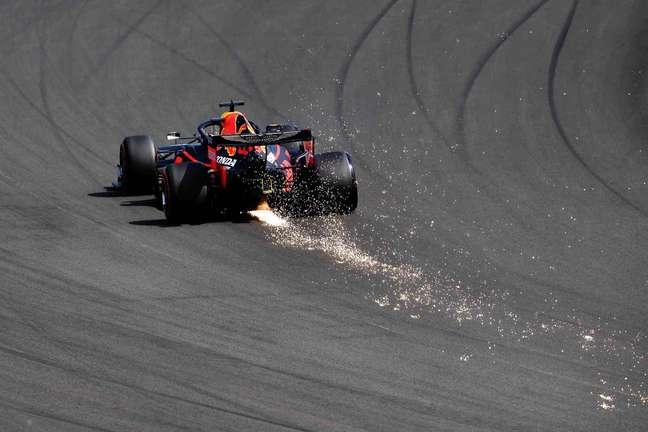Max Verstappen fez o quarto melhor tempo para o GP dos 70 Anos