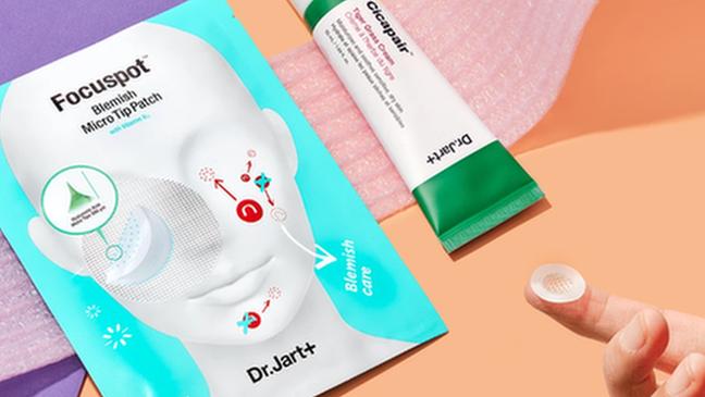 A marca Dr. Jart já tem produtos especiais para máscaras