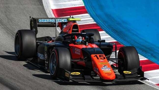 Na primeira temporada pela Fórmula 2, Drugovich tem conseguido resultados expressivos
