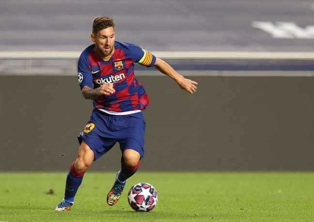 Lionel Messi está insatisfeito no Barcelona e pode deixar o clube