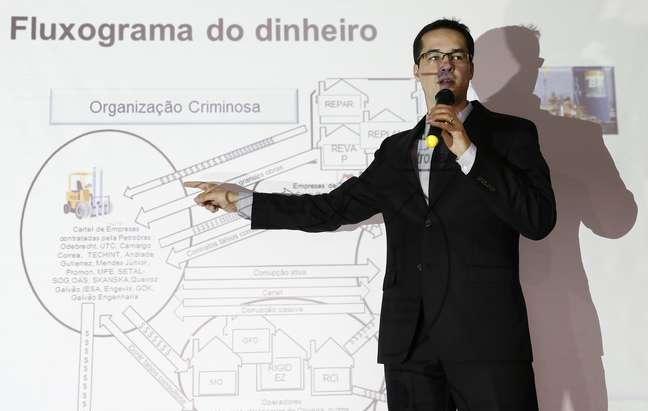 Procurador Deltan Dallagnol em Curitiba 11/12/2014 REUTERS/Rodolfo Buhrer