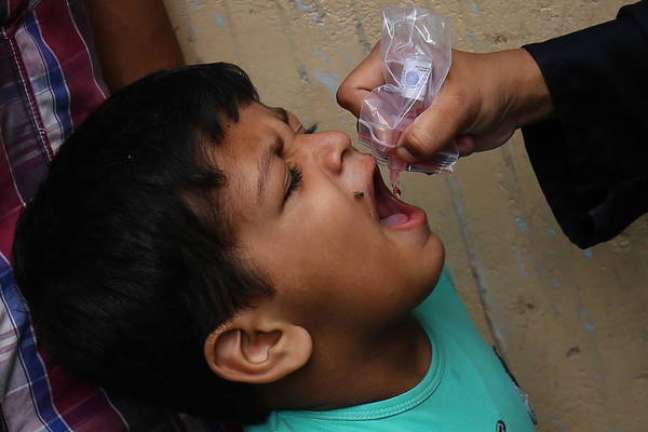 Agora, só o Afeganistão [Foto] e o Paquistão ainda lutam contra a poliomielite