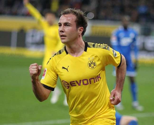 Na temporada, Mário Götze participou de 21 jogos e marcou três gols pelo Borussia Dortmund (Foto: DANIEL ROLAND / AFP)