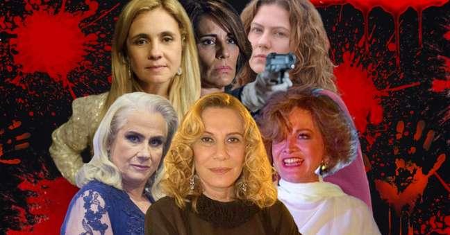 Carminha, Beatriz, Flora, Laurinha e Magnólia: sob a imagem de mulheres de família se escondia uma alma diabólica
