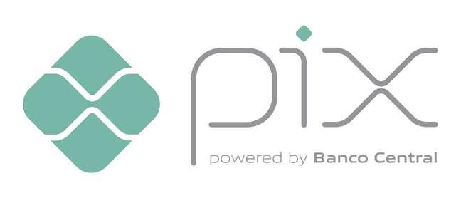 Logomarca do Pix, o novo sistema de pagamentos e transferências do Banco Central do Brasil