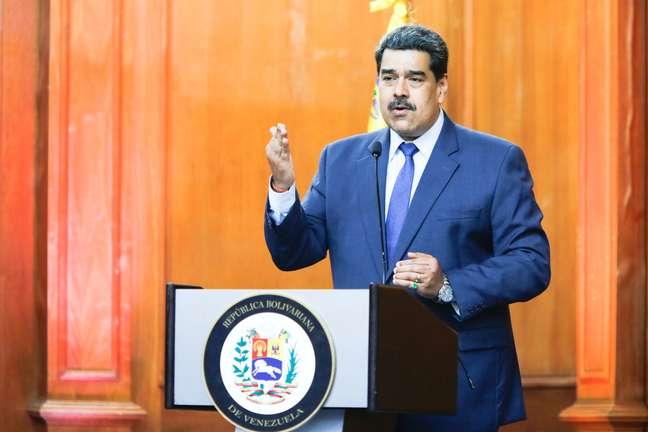 Presidente da Venezuela Nicolás Maduro 29/06/2020 Palácio de Miraflores/Divulgalção via REUTERS