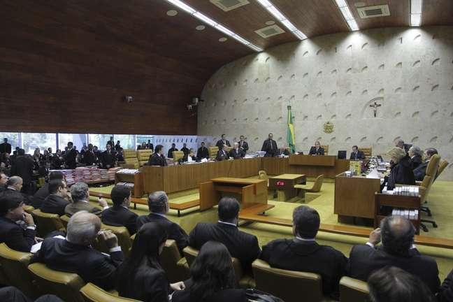 Plenário do STF 02/08/2012 REUTERS/Ueslei Marcelino