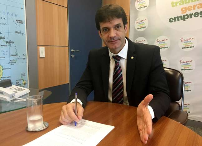 Ministro do Turismo, Marcelo Álvaro Antônio 16/01/2019 REUTERS/Jake Spring