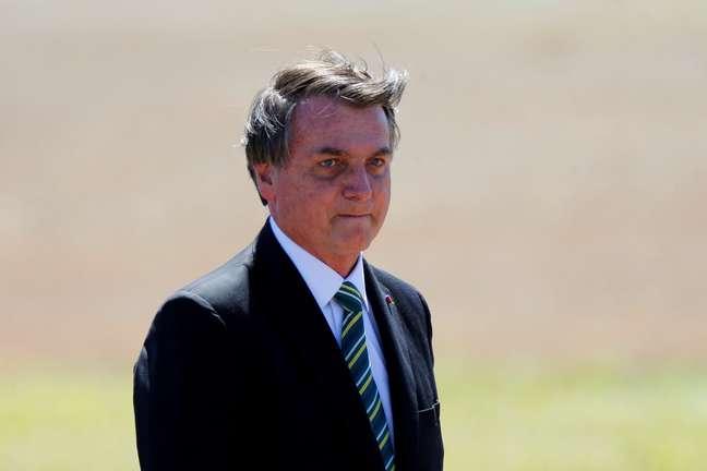 Presidente Jair Bolsonaro. 7/9/2020. REUTERS/Adriano Machado
