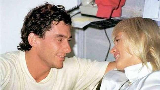 Xuxa e Ayrton Senna foram namorados (Fotos: Reprodução)