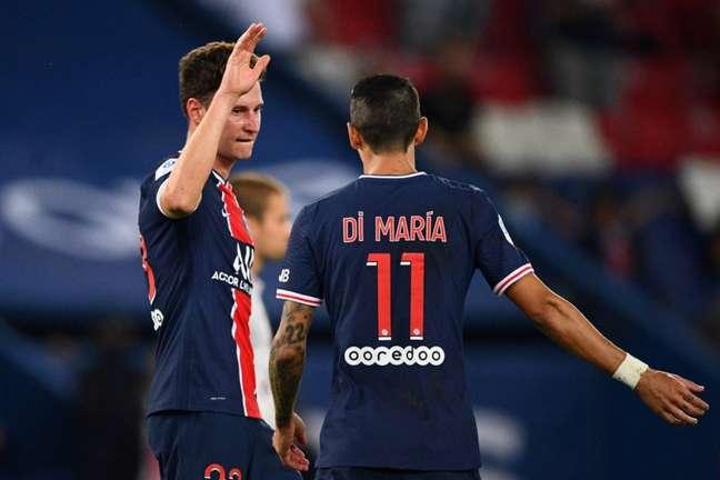 PSG vem de vitória dramática na partida anterior (Foto: FRANCK FIFE / AFP)