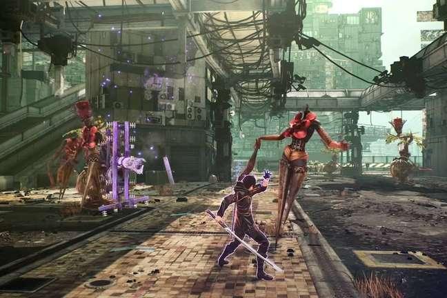 Este é o mais novo RPG da Bandai Namco, com gráficos em estilo anime.