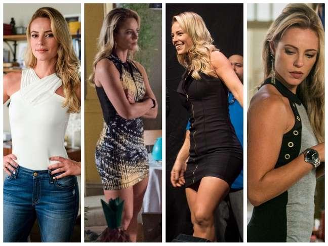 Looks da personagem Jeiza (Fotos: Raquel Cunha/Estevam Avellar/TV Globo/Divulgação)