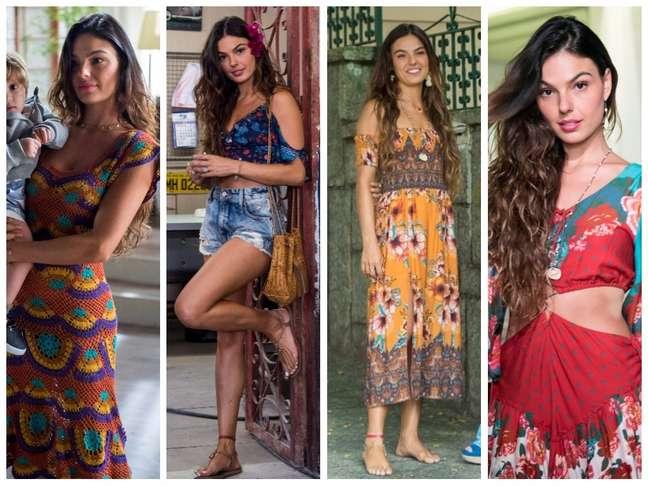 Looks da personagem Ritinha (Fotos: Estevam Avellar/Rafael Campos/TV Globo/Divulgação)