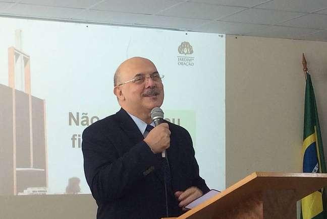 Reverendo pastor Milton Ribeiro, da Igreja Presbiteriana Jardim Oração, de Santos, nomeado para ser o 4.º ministro da Educação de Jair Bolsonaro