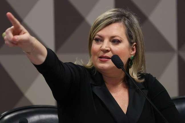A candidata à PrefeituraJoice Hasselmann (PSL-SP)
