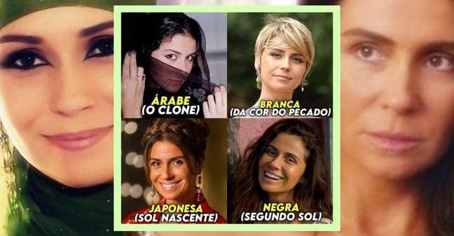 O sarcasmo viralizado: Giovanna Antonelli é a atriz mais multirracial da televisão brasileira