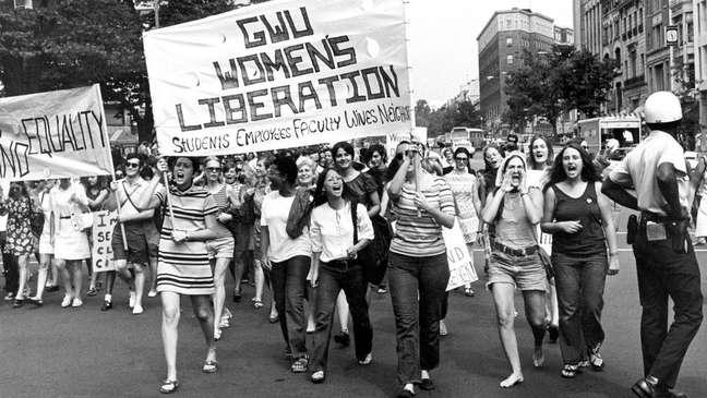 Milhares de mulheres nos Estados Unidos se organizaram para discutir questões que as afetavam não apenas do ponto de vista político e social, mas também sexualmente
