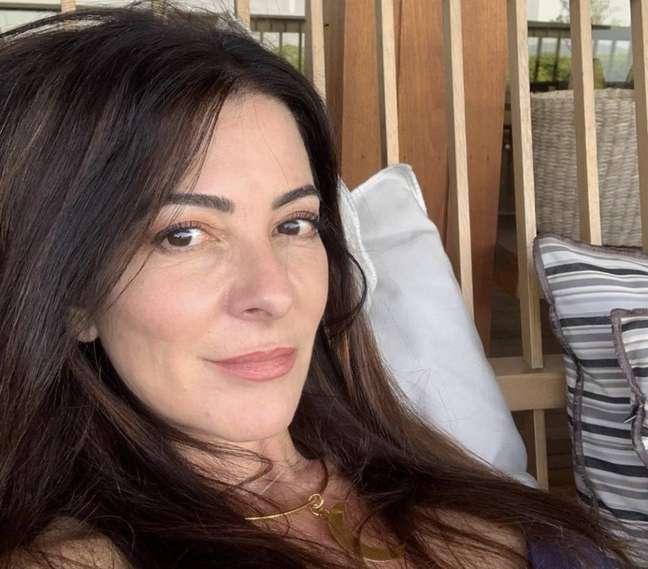 A apresentadora Ana Paula Padrão