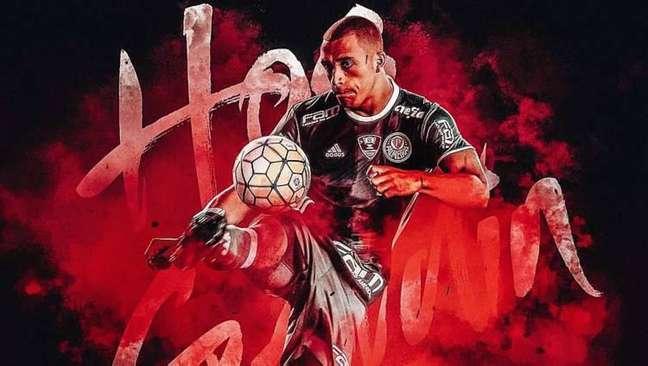 Ex-Palmeiras, Vitor Hugo é anunciado pelo Trabzonspor, da Turquia