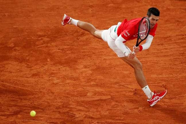 Djokovic está nas quartas de final de Roland Garros
