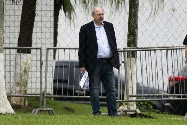 José Carlos Peres foi afastado da presidência do Santos há uma semana (Foto: Ivan Storti/Santos)