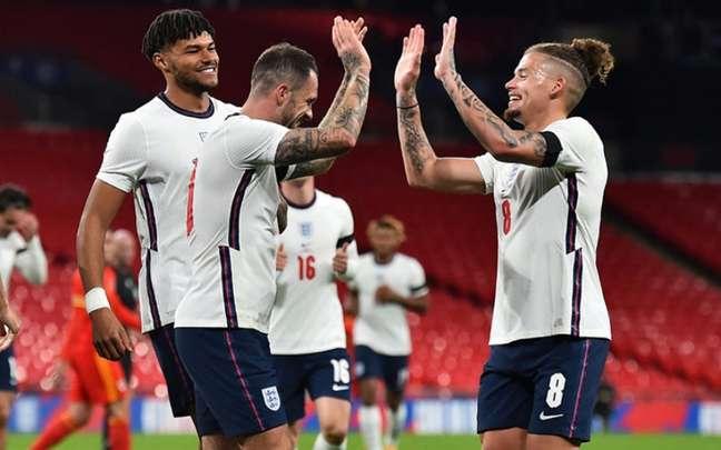 Inglaterra não teve dificuldades para vencer País de Gales em amistoso - (Foto: AFP)