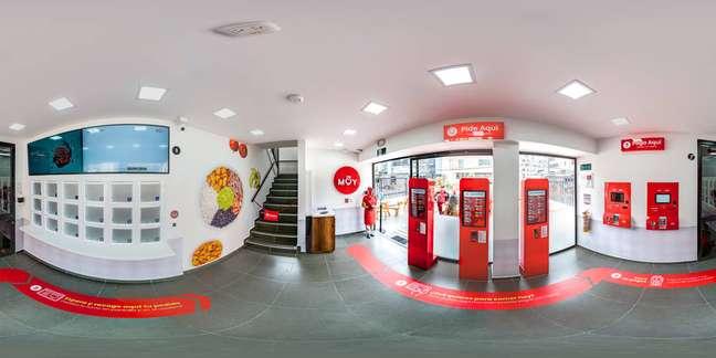 Restauranteda rede de fast-food Muy na Colômbia.