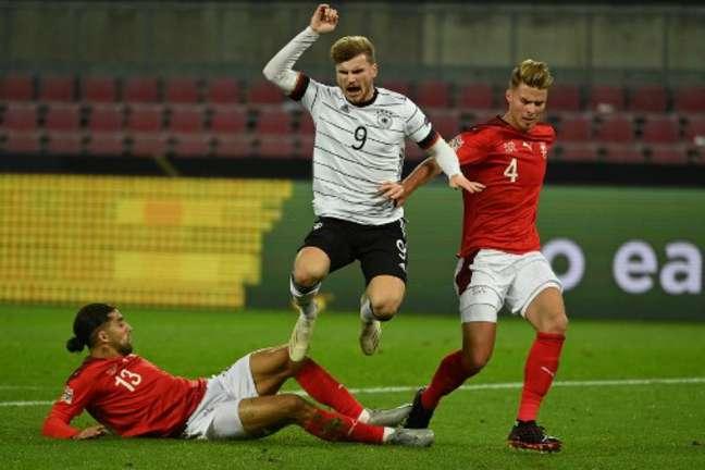 Werner fez uma bela partida (Foto: Ina Fassbender / AFP)